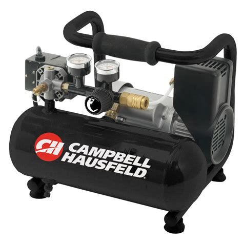 contractor horizontal oilless air compressor 1 gal cbell hausfeld ct10010