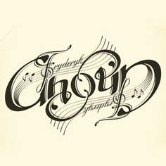 tattoo fonts read both ways ambigram by awangpurba it says the same word