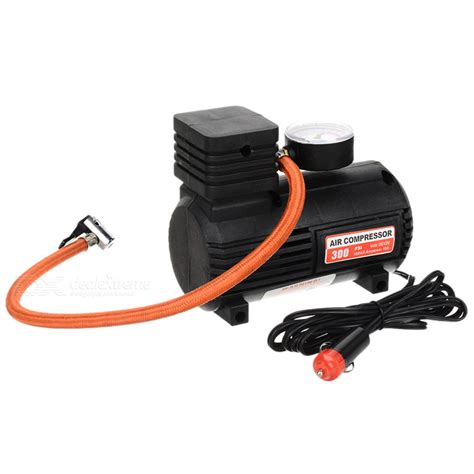 buy portable mini auto air compressor with car charger dc 12v 10 250psi