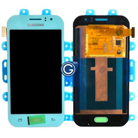 Lcd J1 Ace genuine samsung sm j110 galaxy j1 ace lcd and touchpad in light blue part no gh97 17843c