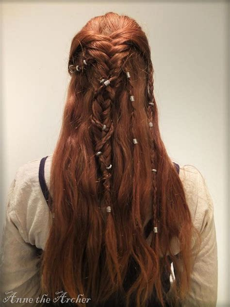 vikings braids how to viking braids by annethearcher deviantart com on