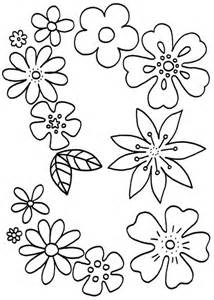 Blumenmuster Vorlagen Malvorlagen F 252 R Blumen Etc