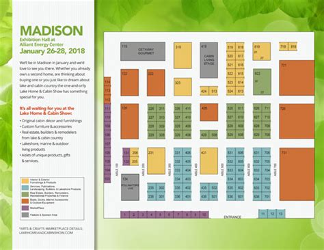 chicago features lake home cabin show official site madison floor plans lake home cabin show official site