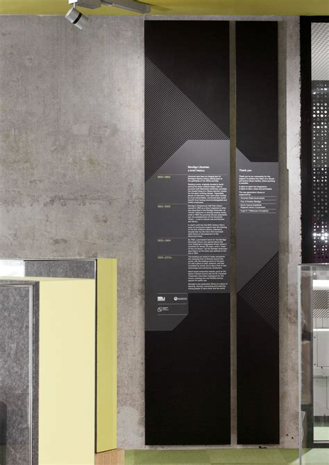 designspiration vs pinterest bendigo library wayfinding by hofstede design building by
