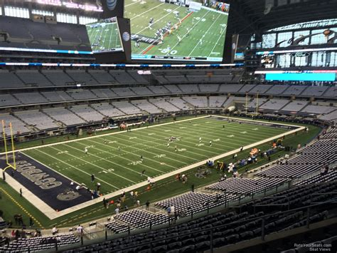 cowboys stadium sections at t stadium section 317 dallas cowboys rateyourseats com