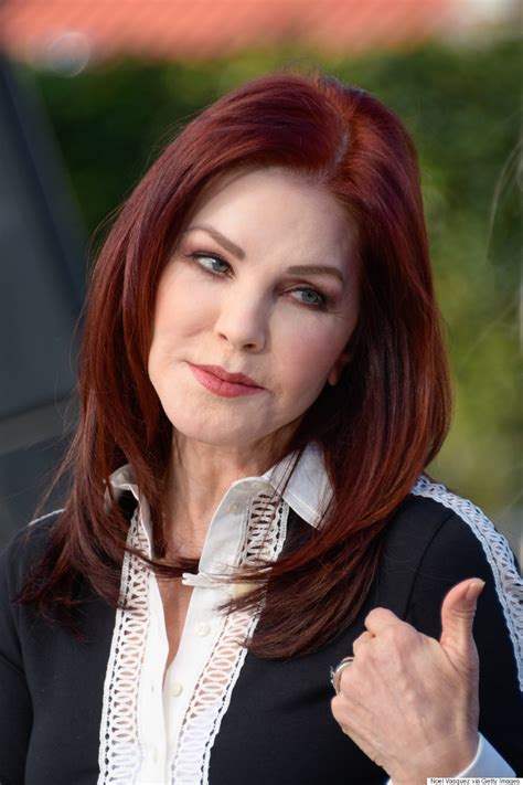 elvis without make up priscilla presley says elvis never saw her without makeup on