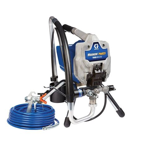 home depot titan airless paint sprayer titan capspray 115 finish hvlp paint sprayer 0524034