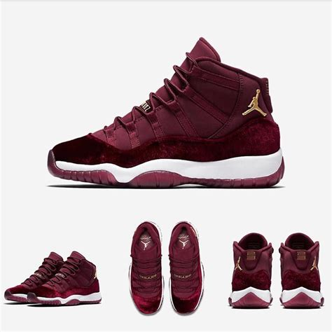 nike retro womens sneakers shop nike air 11 retro gg quot velvet quot sizes up to
