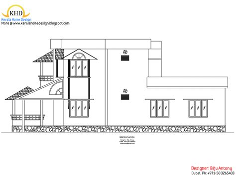 home design for 4 cent 1275 sq ft home plan elevation in 4 cent kerala house