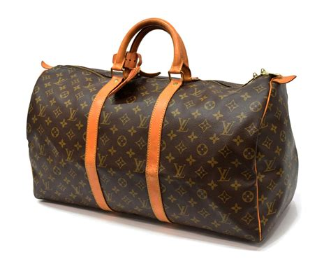 louis vuitton keepall  monogram duffle bag