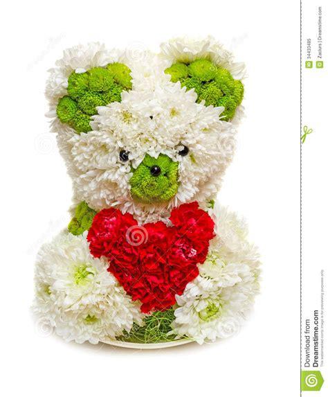 imagenes de rosas con osos oso hecho de las flores