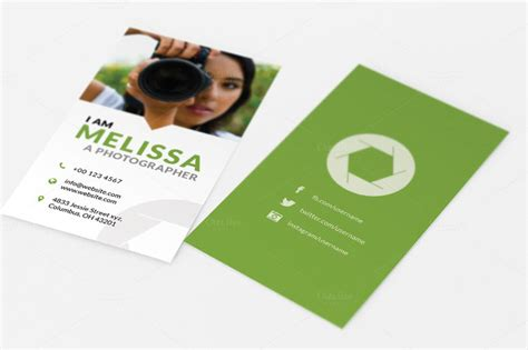 photographer card templates 10 best photography business card templates