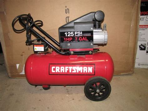 120 gal air compressor espotted