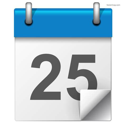 Calendar Icon Vector Simple Calendar Icon Free Vector Clipart Image 116