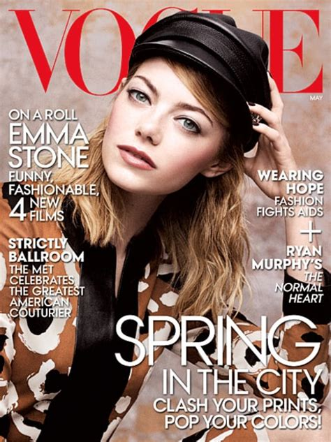 emma stone vogue cover emma stone calls herself a quot bland basic bitch quot talks