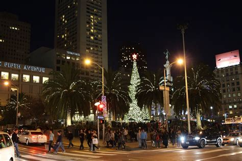san francisco during christmas images