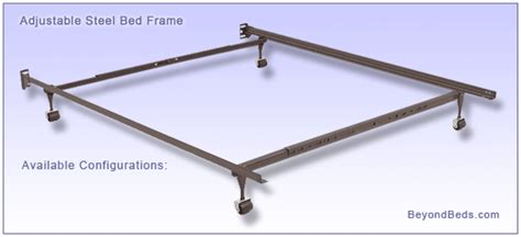 metal bed frames adjustable metal bed frames
