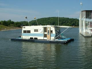 houseboat trailer travel trailer converts to houseboat
