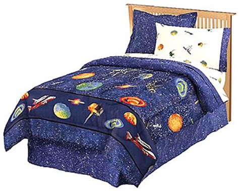 outer space comforter outer space galaxy planets stars bedding bed in bag set ebay