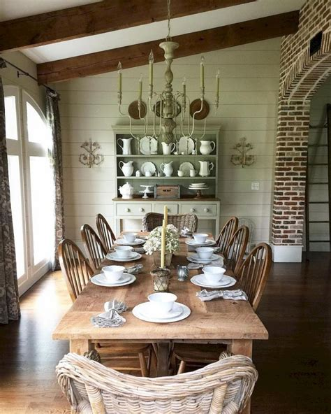 fancy french country dining room table decor ideas