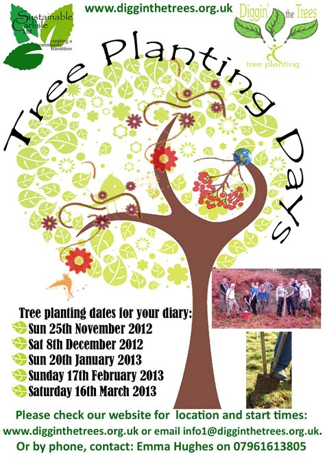 tree planting beaumont  carlisle pact
