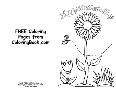 colorable mothers day card template coloring pages free coloring pages s day card