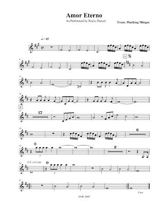 Mariachi Composition, and Transcribing Project: Amor