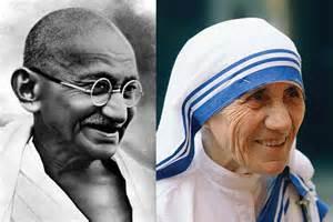 biography of mahatma gandhi and mother teresa life s a journey enjoy living it leadership