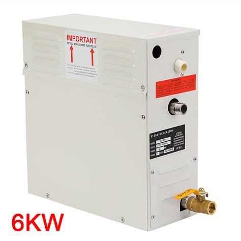 professional 6kw steam generator home spa shower sauna
