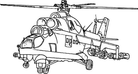 Army Helicopter Coloring Pages free coloring pages of apache helicopter