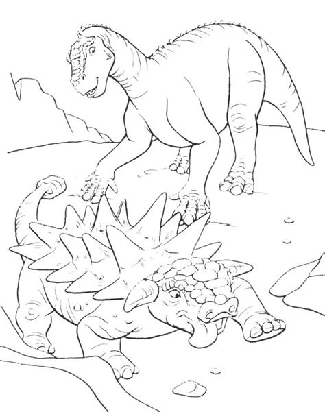 Ausmalbilder Dinosaurier 8   Ausmalbilder