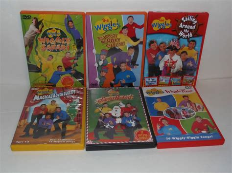 sailing around the world volume 1 adventures of a second books lot of 6 the wiggles dvd sailing around the world