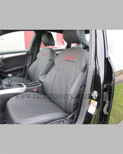 audi seat covers with logo audi a4 seat covers black with s line logo car seat