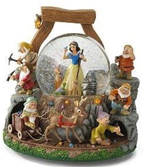 disney snowglobes collectors guide snow white quot whistle
