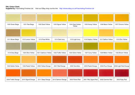 6 best images of yellow color chart yellow green color chart sherwin williams safety yellow