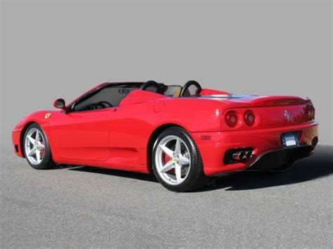2004 f430 for sale buy used 2004 f430 spider rosso corsa
