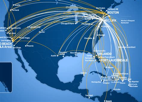jetblue route map jetblue flight map my
