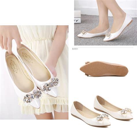 Ready Stock Sepatu Canvas Slip On Flat Shoes Casual Wanita shoes 52 sepatu wanita kualitas impor