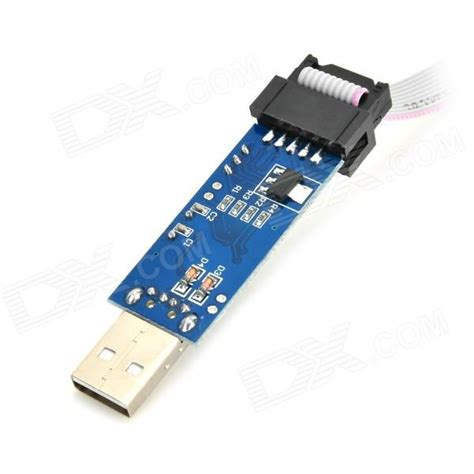 Usbasp Downloader usbasp usbisp downloader programmer for 51 avr blue