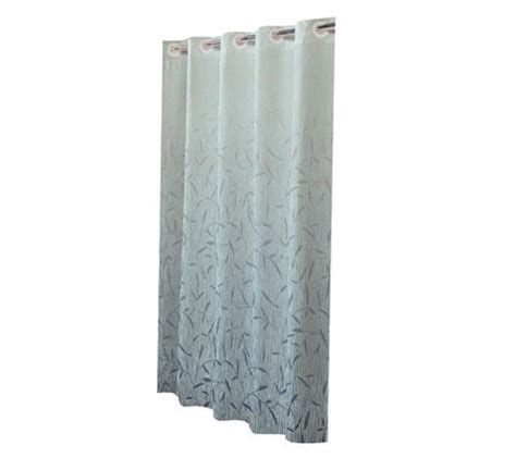 hookless fabric shower curtain with snap liner hookless fabric tranquility sky shower curtainw snap