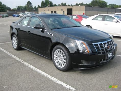 2012 cadillac cts colors 2012 black cadillac cts 4 3 0 awd sedan 53982687