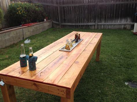 Handmade Patio Table - handmade outdoor table by dagan design custommade