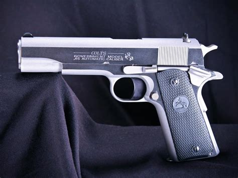 1991 colt government 45acp stainless colt government 1991 stainless 5 quot 45acp new o1 for sale