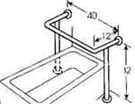 Toilet Grab Bars Free Standing Shower And Bathtub Grab Bars Adaptive Access Catalog
