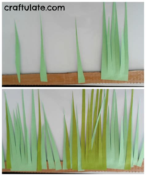 How To Make Paper Out Of Grass - peekaboo grass