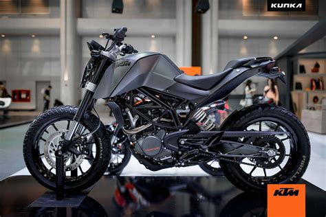 Ktm Buke 200 Motorcycle Magazine Ktm 200 Duke T Concepts By Kunka