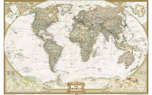 large framed us map large framed print map of the world vintage style