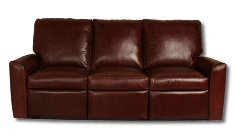 custom sofas atlanta addison reclining leather sofa leather creations