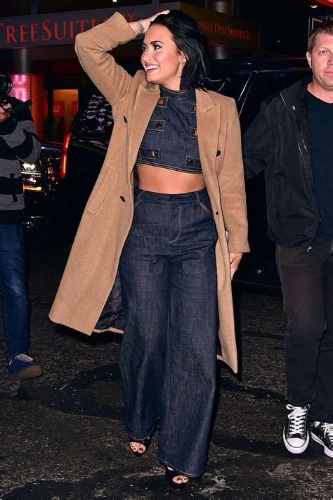 confident by demi lovato meaning demi lovato s latest outfit requires a whole lot of
