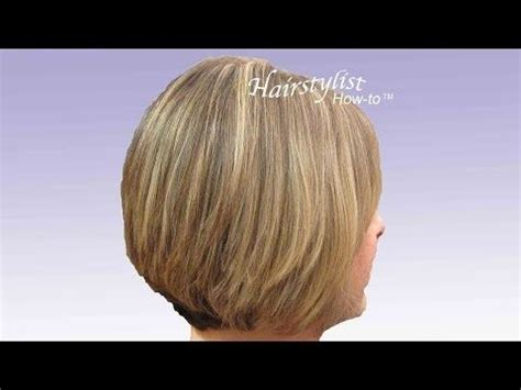 how to cut a stack bob stacked bobs short stacked haircuts and stacked haircuts